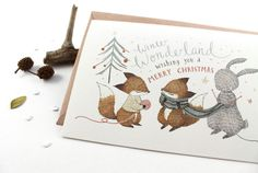 Winter Wonderland - 10 Greeting Cards