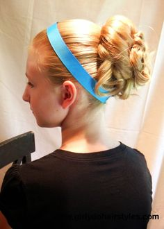 Girly Do Hairstyles: By Jenn: Cinderella Inspired Hairstyle Holiday Hairstyles, Quick Hairstyles, Formal Hairstyles, Halloween Hairstyles, Princess Updo, Princess Hairstyles, Creative Hairstyles, Bridesmaid Hair, Your Girl