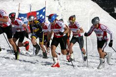 Largest multi-sport event in Central Oregon. Downhill skiing, Nordic skiing, cycling, running and kayaking. Bend, Central Oregon, Fun Race, Nordic Skiing, Ski Racing, Amazing Race, Cool Watches, Snowboarding, Snowboards