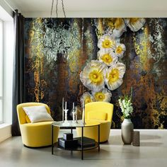 Brewster Home Fashions Komar Serafina Wall Mural 3d Wallpaper For Walls, Brick Wallpaper, Paper Wallpaper, Wallpaper Panels, Home Wallpaper, Wallpaper Designs, Wallpaper Roll, Tile Panels, Floral Wall