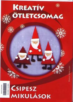 Mindenféle - Klára Balassáné - Picasa Webalbumok Christmas Books, All Things Christmas, Christmas Crafts, Christmas Ornaments, Noyeux Joel, Winter Diy, Theme Noel, Paper Crafts, Diy Crafts