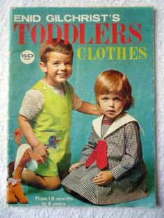 Vintage Children's clothing book