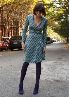 Diane von Furstenberg, Wrap Dress ---- #dress
