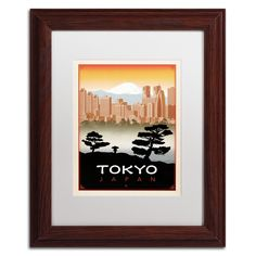 'Tokyo' by Anderson Design Group Framed Graphic Art