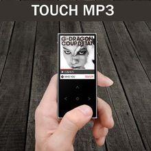 New Benjie X1 MP3 prehrávač s dotykovou obrazovkou FM Radio Record ebook Lossless Hudba APE FLAC Digital Audio Player 8GB. 100 hodín prehrávania (Hong Kong)