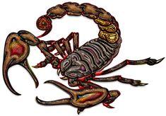 Sacred Symbols 3D: Sacred Scorpion
