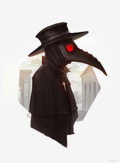 ArtStation - Plague doctor, Daenzar .
