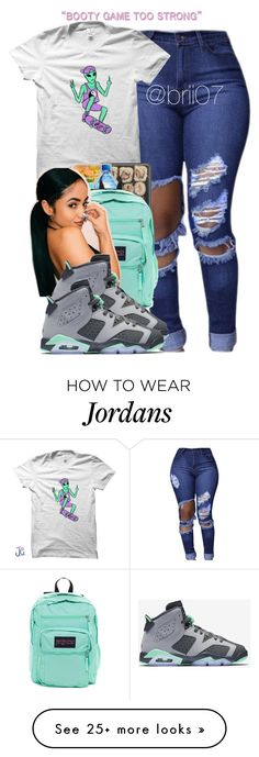 """Untitled #40"" by brii07 on Polyvore featuring JanSport and NIKE"