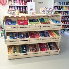 """165 Likes, 16 Comments - Michelle du Plessis (@scaapi) on Instagram: """"I love this colourful display of the Nurturing Fibres ECO yarn ranges at @echtstudio in their…"""""""