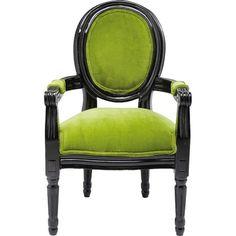 Schicker Stuhl in knalligem Grün 255,00 € <3 Hier kaufen: http://www.stylefruits.de/wohnen/stuhl-kare-home/w5049260 #Moebel #Einrichtung #Stil