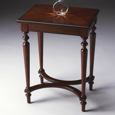 Butler Accent Table 24.5H in. - Plantation Cherry | from hayneedle.com