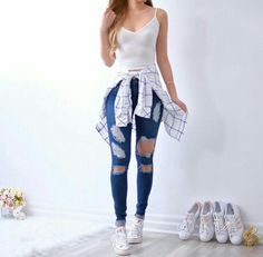 dress, clothes, and fashoin image Teenage Outfits, Teen Fashion Outfits, Cute Fashion, Outfits For Teens, Fall Outfits, Summer Outfits, Cute Casual Outfits, Pretty Outfits, Stylish Outfits