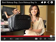 A makeup artist reviews the Travelon Total Toiletry Kit - with ALL her makeup!
