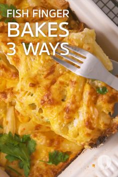 FISH FINGER BAKES 3 WAYS 🐟 3 hearty bakes for the family to share using a convenient ingredient: fish fingers! South African Recipes, Ethnic Recipes, Fish Finger, Healthy Food, Healthy Recipes, Weeknight Dinners, Fish And Seafood, Fish Recipes, Food Dishes