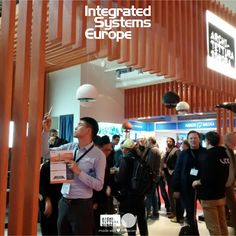 Lots of attention for all #ArchitetturaSonora news at #ISE2017! Don't miss out! Come by our stand, C100 in Hall3 to make your ears dream! #ArchitetturaSonora #SoundMatters #Concrete #BestSound #Spherina #Cubino #Brutalist