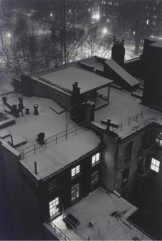André Kertesz, Roof Top Views, New York 1958