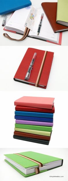 My favorite planners. Perfectly designed and with Clairefontaine paper.