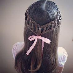 Sweet pull through braid