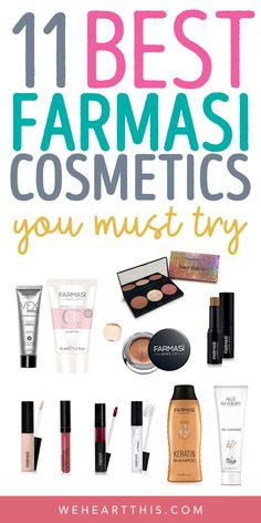 11 Best Farmasi Cosmetics Products You MUST Try, Looking for the best Farmasi cosmetics products. These budget friendly beauty buys will help you look flawless without breaking the budget. Beauty Dupes, Beauty Hacks, Drugstore Beauty, Beauty Products, Best Beauty Tips, Beauty Review, Farmasi Cosmetics, Faces Cosmetics, Makeup Prices