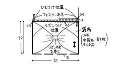 リボンモチーフグッズ ~ポシェット~ Step.1