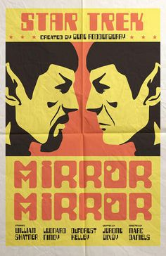 Star Trek Episodes Re-imagined As Movie Posters – Juan Ortiz