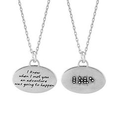 Look what I found at UncommonGoods: Braille Necklace - Love for $48.00