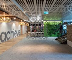 Sustainable, innovative, responsible were the keywords driving Incorp's design for Sinclair Knight Merz (SKM)'s Melbourne office. Sports Office, Daken, Perforated Metal, Wood Floor, Ceilings, Screens, Workplace, Innovation, Commercial