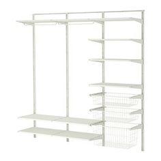 ALGOT Wall upright/shelves/rod - IKEA 599.267.44