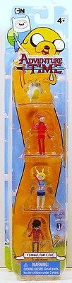 Jazwares Adventure Time Fionna and Cake 4pk Prince Gumball Marshall Lee | eBay