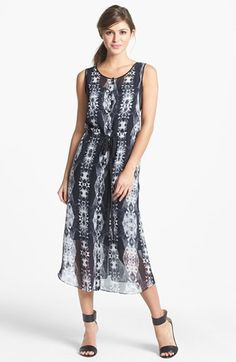 Kenneth Cole New York 'Amy' Print Sleeveless Dress available at #Nordstrom