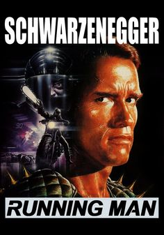 """""""The Running Man"""" > 1987 > Directed by: Paul Michael Glaser > Action / Crime / Sci-Fi / Chase Movie / Media Satire"""