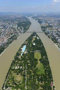 Margaret Island - Budapest, Hungary (Margitsziget)-- has a 3.3 mile jogging trail around the island!!