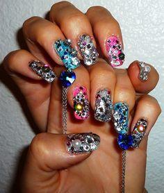 J=Pop Nails by JapanNails - Nail Art Gallery nailartgallery.nailsmag.com by Nails Magazine www.nailsmag.com #nailart