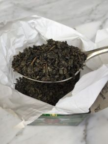 Gunpowder Green Tea - Delicious Moroccan Mint Tea Recipe  - full recipe available at www.karoliinakazi.com