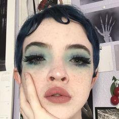 Makeup Inspo, Makeup Art, Makeup Inspiration, Beauty Makeup, Hair Makeup, Grunge Makeup, Grunge Hair, Cute Makeup, Pretty Makeup