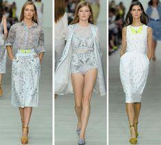 Matthew Williamson Spring/Summer 2014 RTW - London Fashion Week  #LFW #fashionweek #LondonFashionWeek
