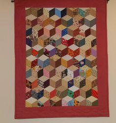 Tumbler Block Quilt