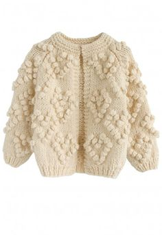 - Open front - Yarn balls trimmed heart shape pattern - Hand-knit - Not lined - 50% wool, 50% Acrylic - Hand wash cold/Dry clean Size(cm) Length Bust Shoulder Sleeves 12-18M (86cm) 31 66 24 29 18-24M (92cm) 34 68 25 31 2-3YR (98cm) 37 70 26 33 3-4YR (104cm) 40 72 27 35 5-6YR (116cm) 43 74 28...