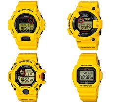 Casio G-Shock – Lightning Yellow collection (Holiday 2013)
