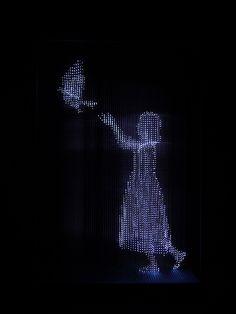 Makoto Tojiki: Hope and Dream (2012) Exhibited to L'ART...