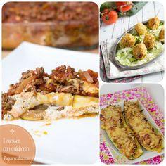 El calabacín es muy versátil y su sabor suele gustar a los niños. Selección de recetas de calabacín para todos los gustos: quiche, lasaña, san Jacobos...