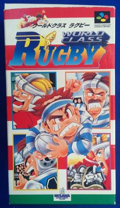 Super #Famicom :  World Class Rugby ( SHVC-WY ) http://www.japanstuff.biz/ CLICK THE FOLLOWING LINK TO BUY IT ( IF STILL AVAILABLE ) http://www.delcampe.net/page/item/id,0366173684,language,E.html