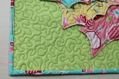 5 free-motion quilting stitches you need to know