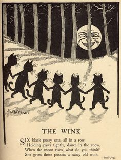Wain would also go on to illustrate children's books, both under his real  name and a pseudonym. In fact, in one year, Wain would create hundreds of  drawings ...