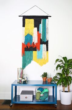'70s-inspired woven wall decor adds texture and color, and will be another major trend in 2016.  Read more: http://stylecaster.com/pinterest-home-decor-2016/#ixzz433fEjXwo
