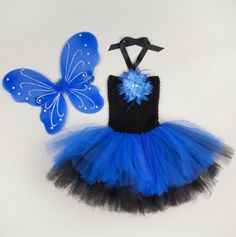 Multi Layer Tutu Dress with Wings