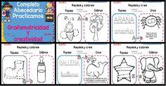Fichas Abecedario grafomotricidad parte  1 PORTADA Notebook, Bullet Journal, Clip Art, School, Footprint, Alphabet, Reading Comprehension, Bebe, The Notebook