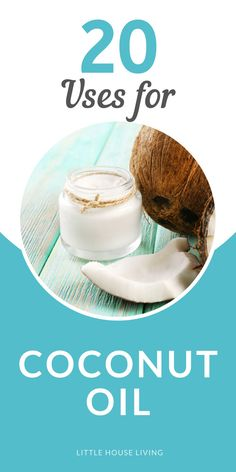 Are you utilizing that jar of coconut oil to its full potential? I bet you didn't know that you didn't know all of these ways how to use coconut oil! Coconut Oil Deodorant, Liquid Coconut Oil, Homemade Coconut Oil, Homemade Deodorant, Coconut Oil Uses, Homemade Beauty Products, Natural Cleaning Products, Homemade Shaving Cream, Essential Oil Diffuser Blends