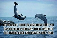 #Be yourself