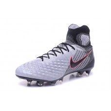 05148def7 Nike MagistaX - Bueno Nike MagistaX Proximo II FG Blanco Gris Rojo Zapatos  De Futbol